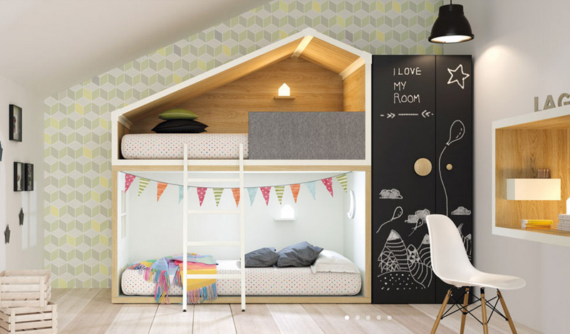 lagrama. How beautiful is this bunkbed ...