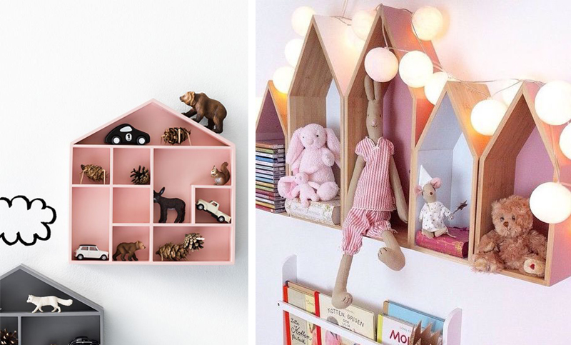 Stylish Shelves in Kids\' Rooms - by Kids Interiors
