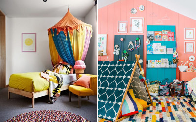 BE PLAYFUL WITH YOUR COLOUR PALETTE