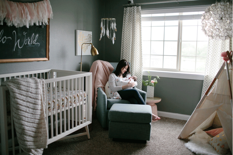 A NURSERY FIT FOR A LADY NAMED EMMAJAMES