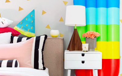 KIDS' ROOMS WITH A SUMMERY FEEL