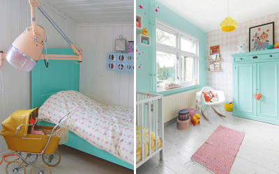 KIDS' ROOMS WITH TURQUOISE
