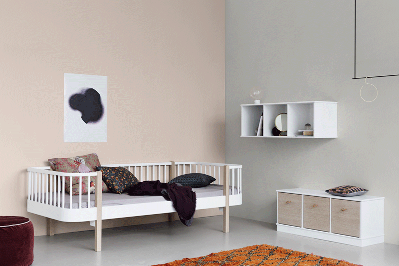 A Bed That Grows With The Child Kids Interiors