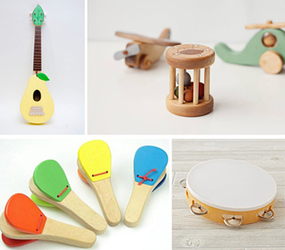 PLAY MUSIC WITH TOYS