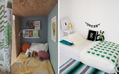 FOREST THEMED KIDS' ROOMS