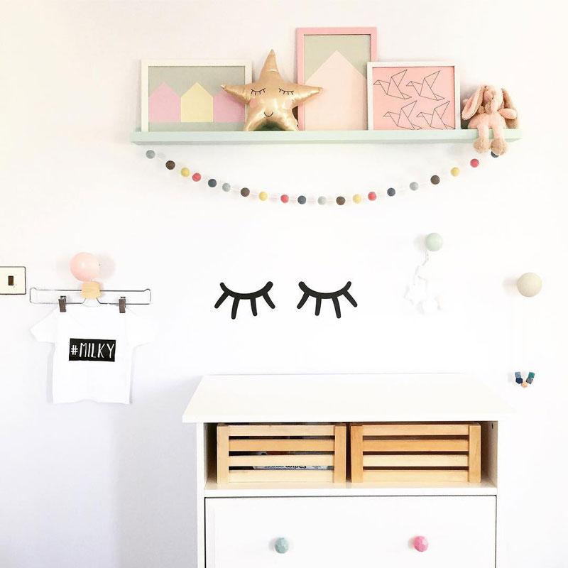 baby changing area ideas