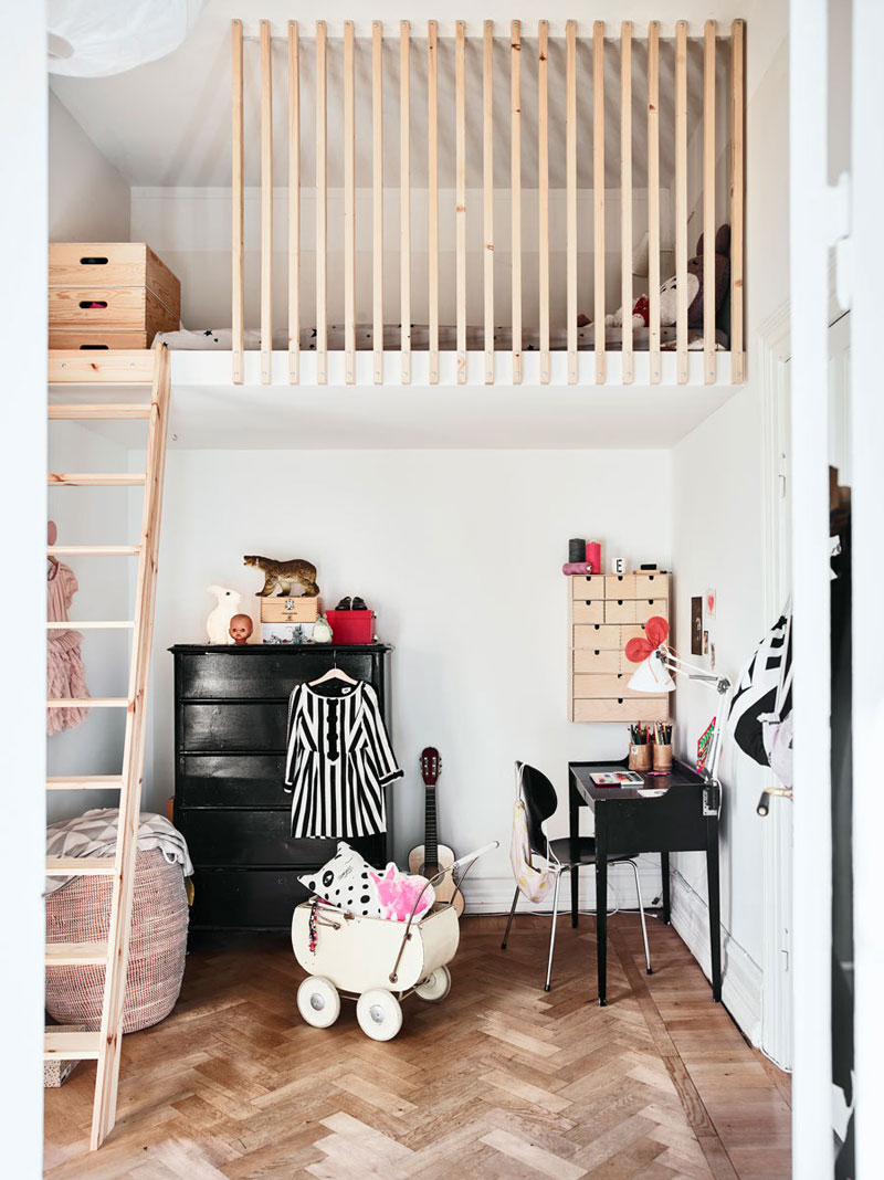 Bunk Beds Designs For Kids Rooms: The Advantages Of A Loft Bed In A Kid's Room
