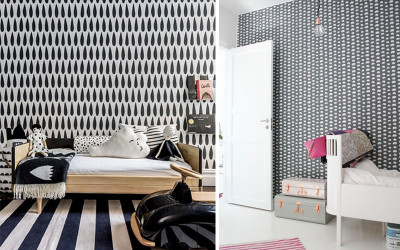 PATTERNS IN KIDS' ROOMS