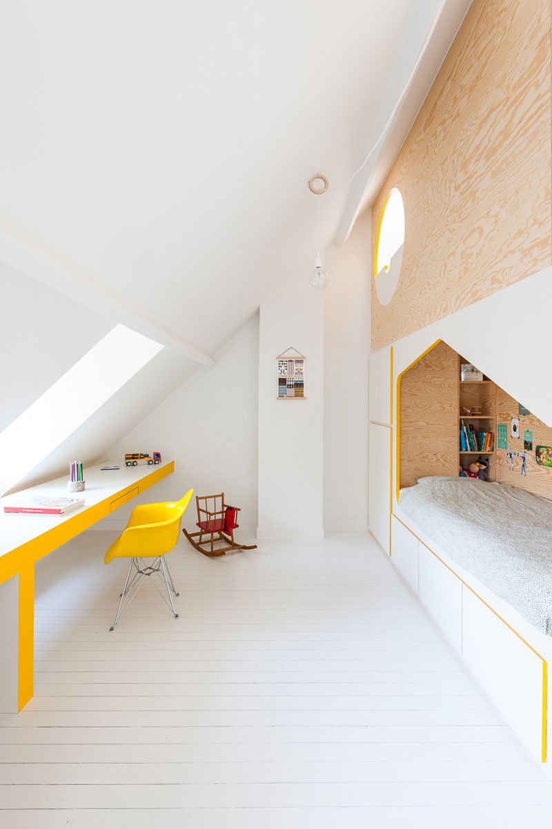 yellow in childrens rooms