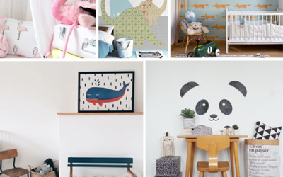 ANIMALS THAT ARE PERFECT FOR NURSERY AND KIDS' ROOMS