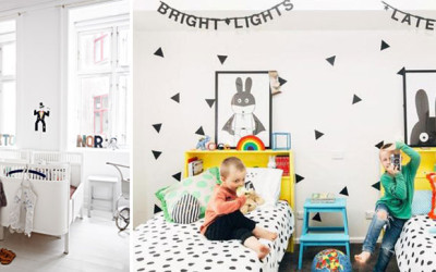 CREATING A BEDROOM FOR TWINS