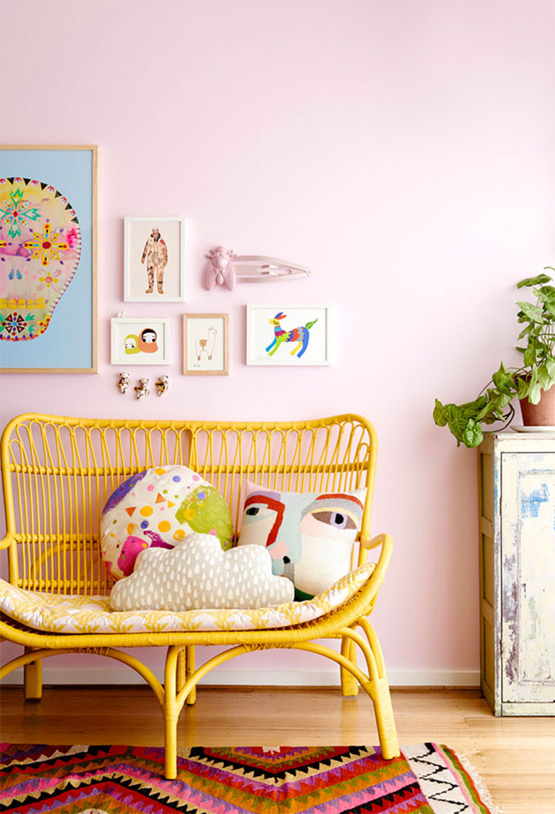 Rattan In Kids Rooms Beds Chairs Toy Storage