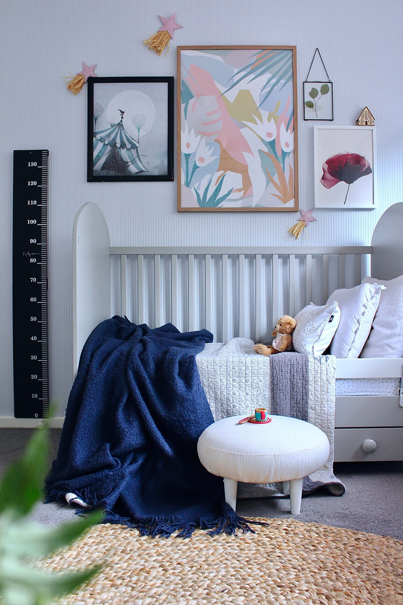 sophisticated toddler room
