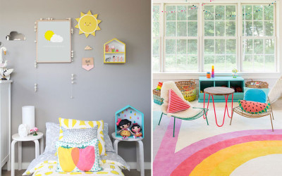 DESIGNING A FRUITY KID'S ROOM