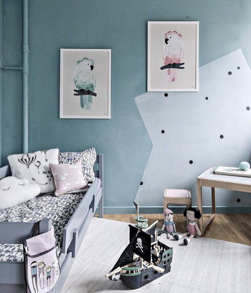 bird posters for kids room
