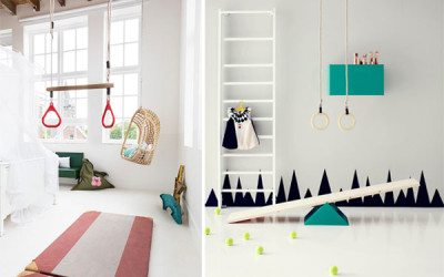 TURN THE KID'S ROOM INTO A LITTLE GYM