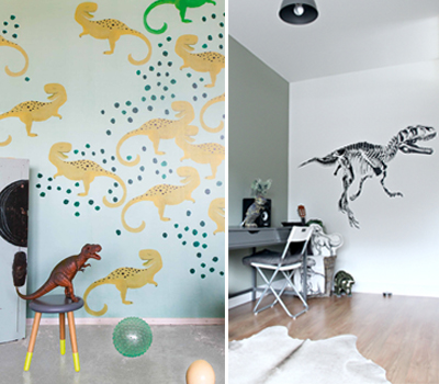 DINOSAURS BRING HISTORY AND CURIOSITY INTO KIDS' ROOMS