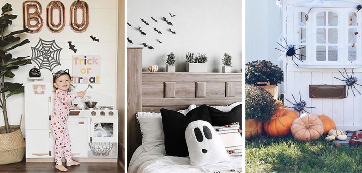 AWESOME HALLOWEEN DECOR IDEAS IN A KID'S ROOM