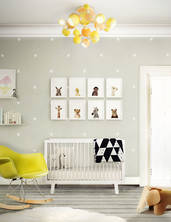 FRESH AND LIGHT GIRL NURSERY ROOMS - Kids Interiors