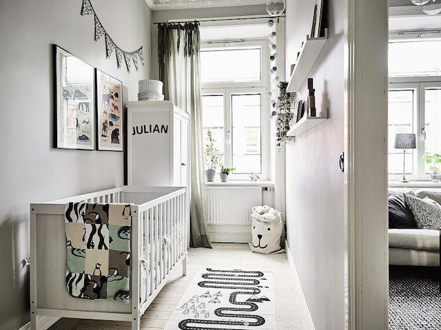 Scandinavian Style Boy Nursery