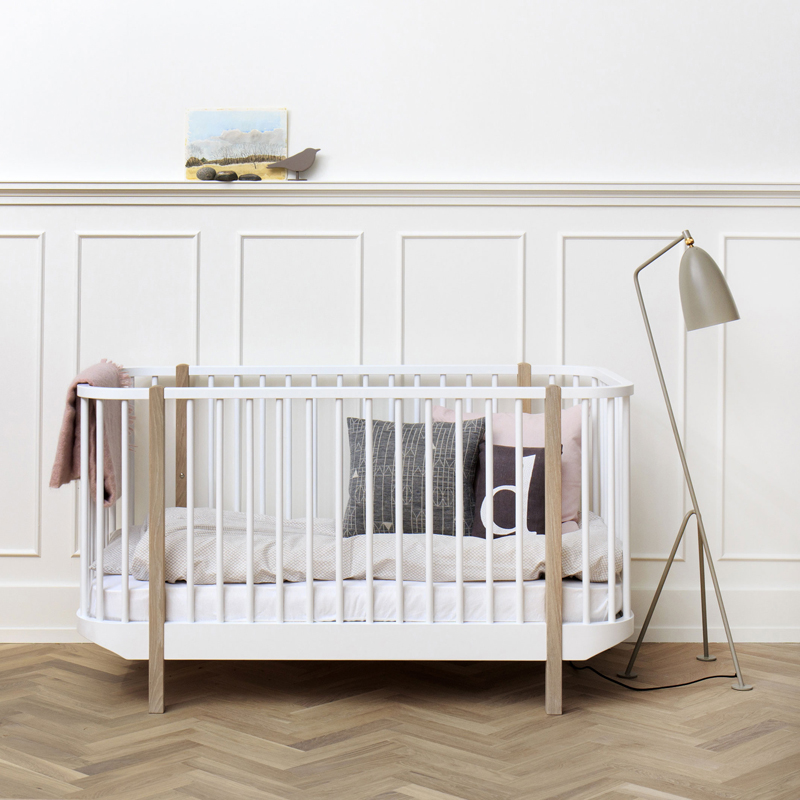 trendy baby furniture. wood cot oak oliver furniture trendy baby t