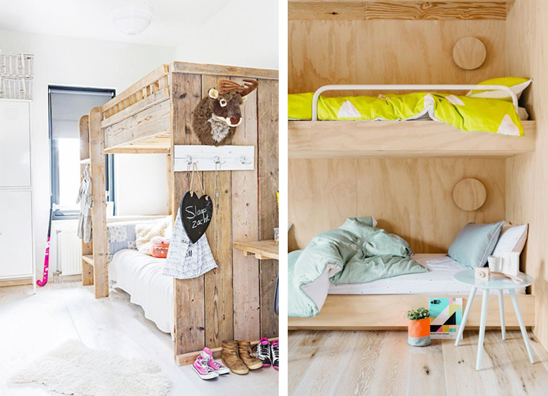 bespoke wooden bunkbeds