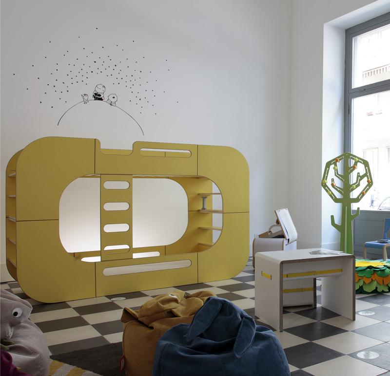 io kids designs pod bunk bed