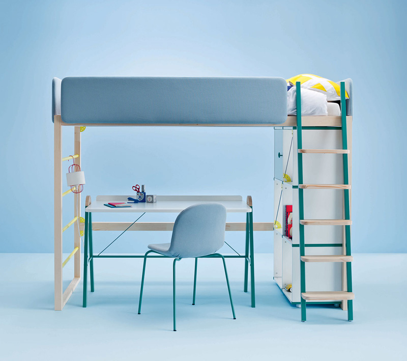 Dot and Cross bunkbed