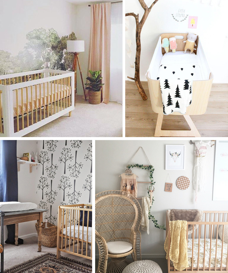 Natural Baby Nursery Design Reveal: Nursery Trends 2017