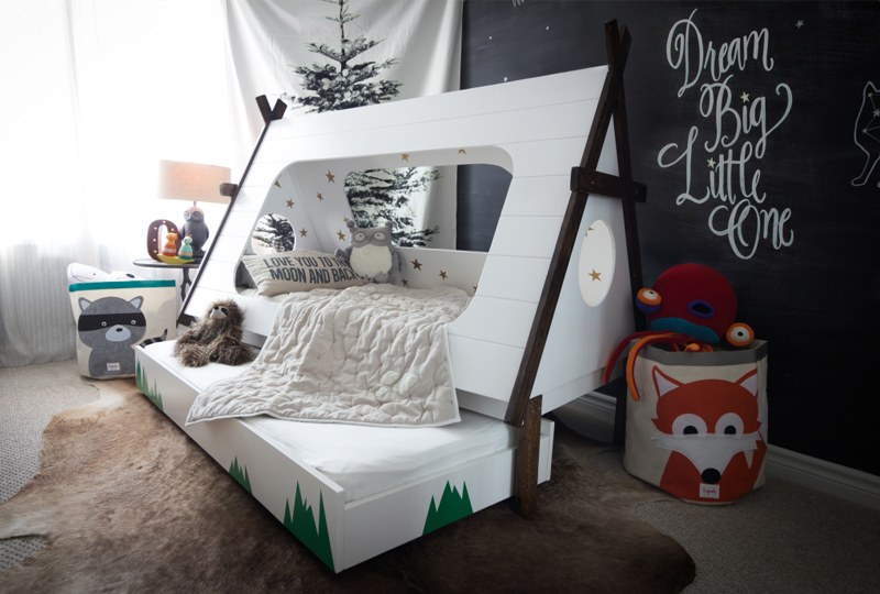 camping bed kids