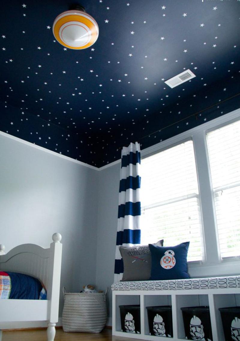 Sky Ceiling Kids Room