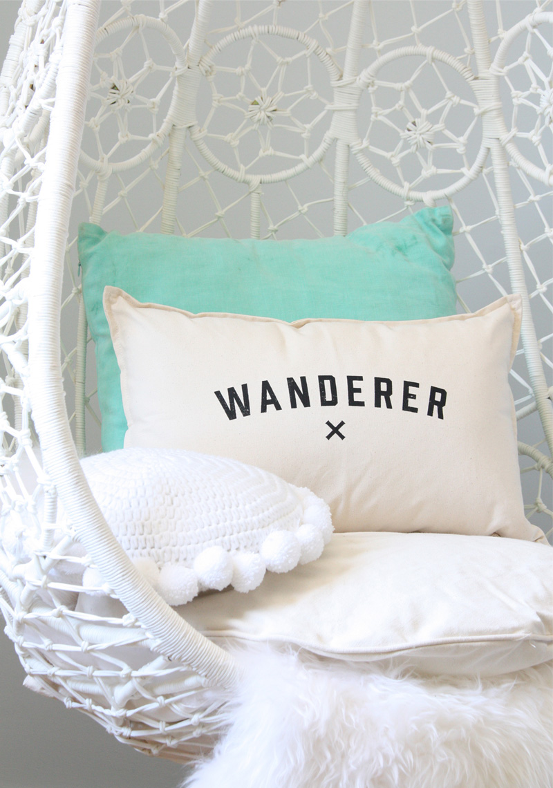 wanderer cushion