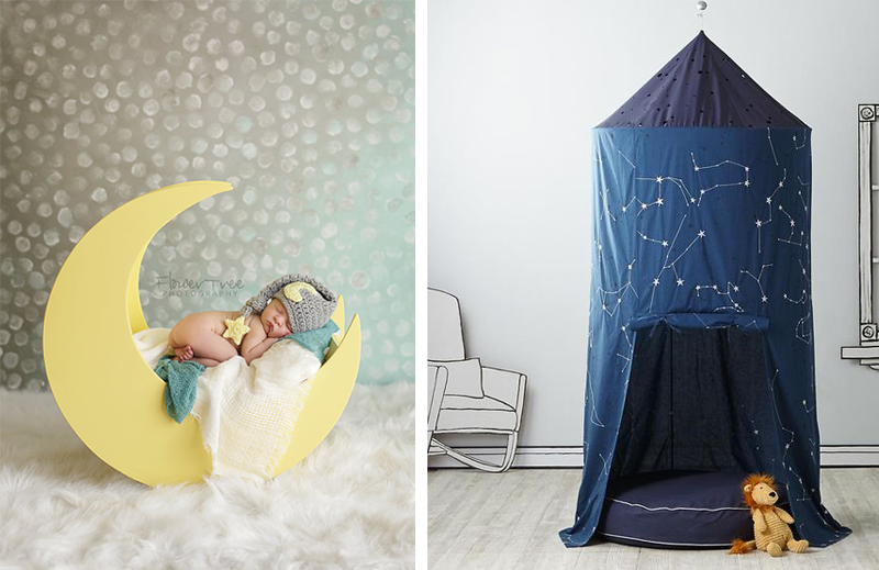 The Magic Og Night Sky In Kids Room By Kids Interiors