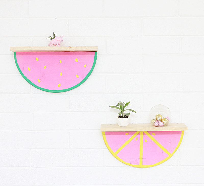 watermelon shelves