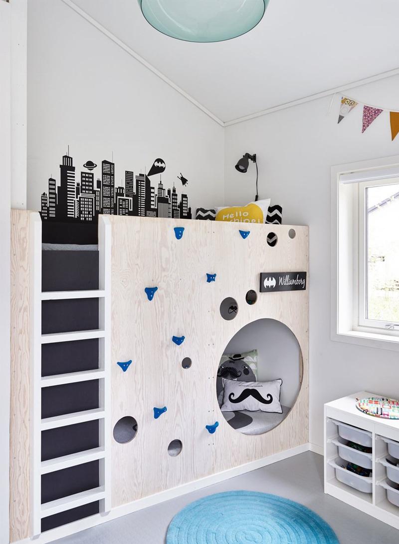 original loftbed kidsroom