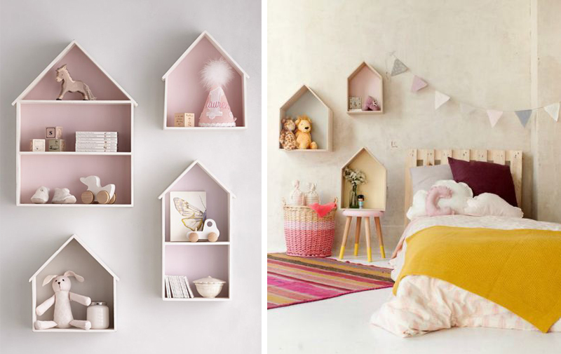 Captivating Original Shelves Kids Rooms