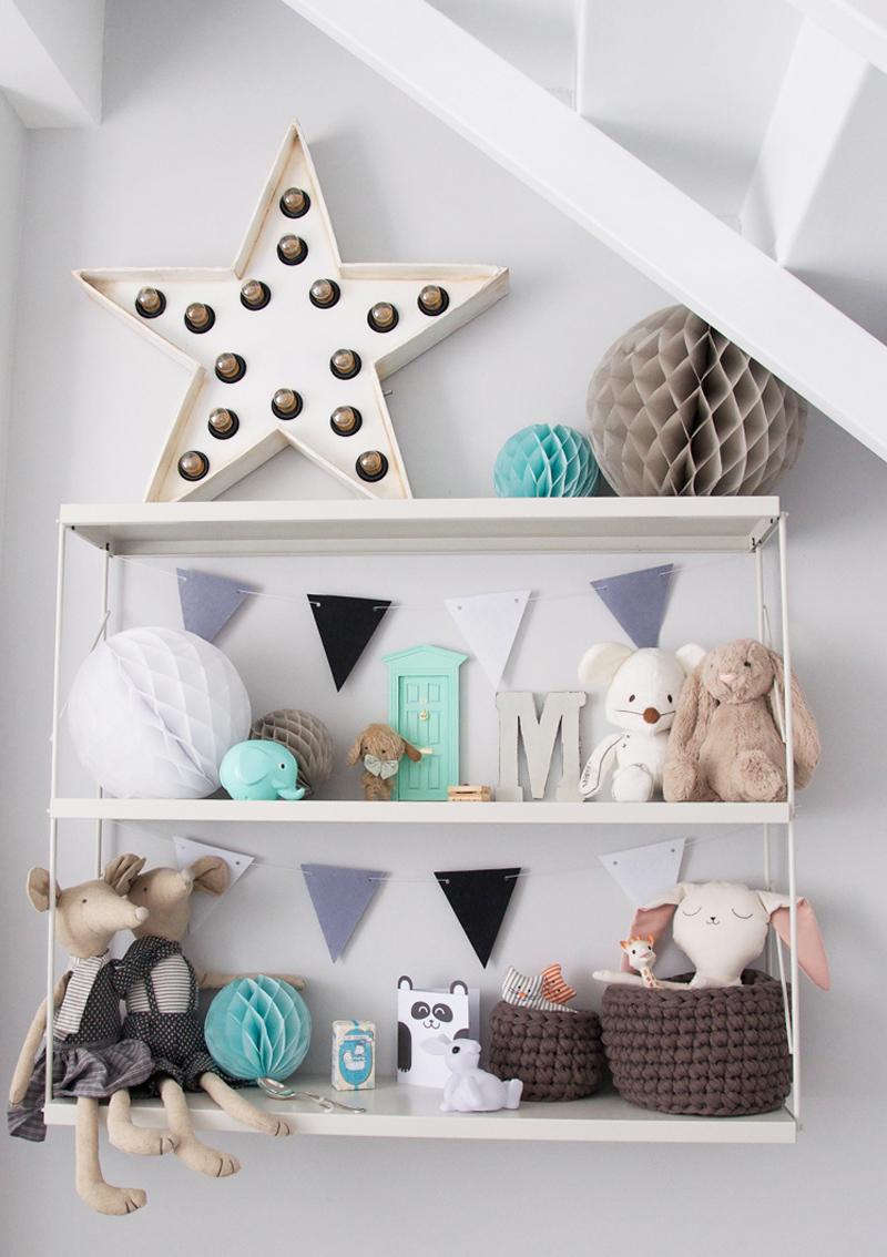 shelves nursery rooms