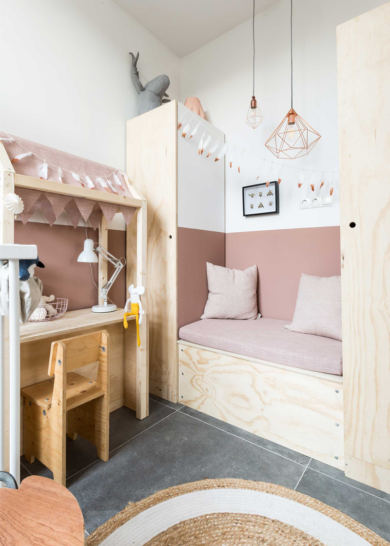 Two tone kids 39 and nursery rooms by kids interiors for Kinderzimmer play 01
