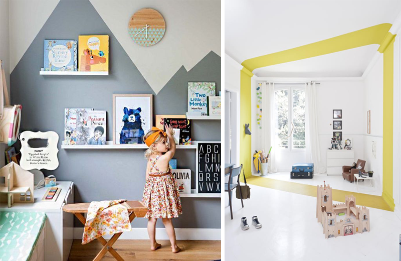 Paint Effects Kids Rooms