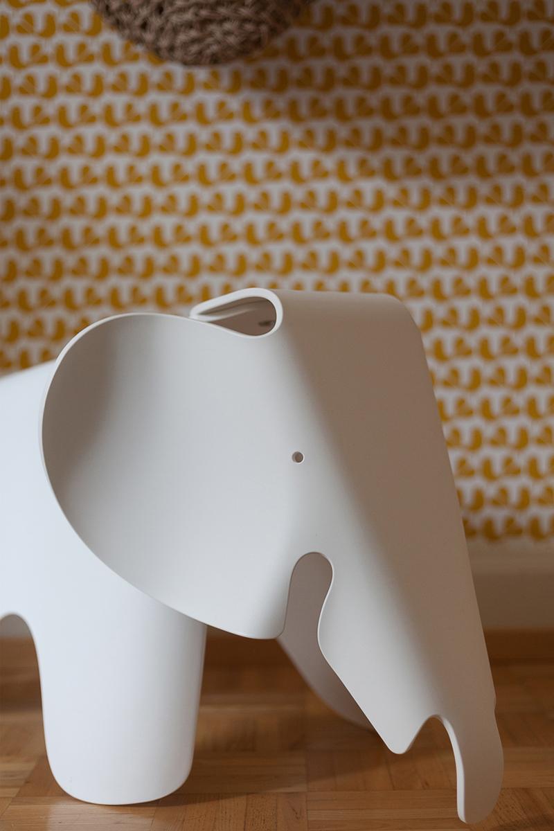 white vitra elephant