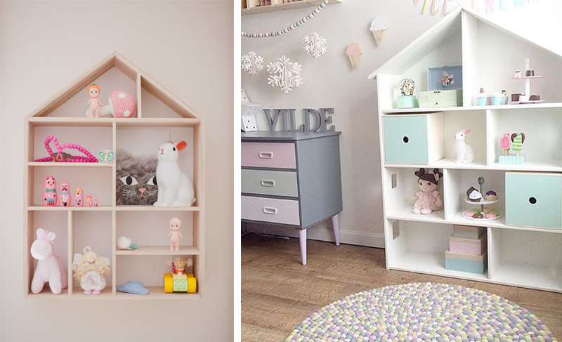 houseshelves kids rooms