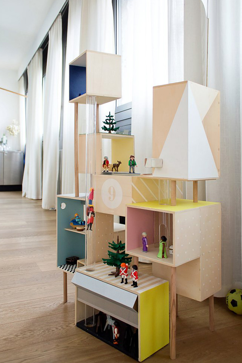 design shelves kids rooms