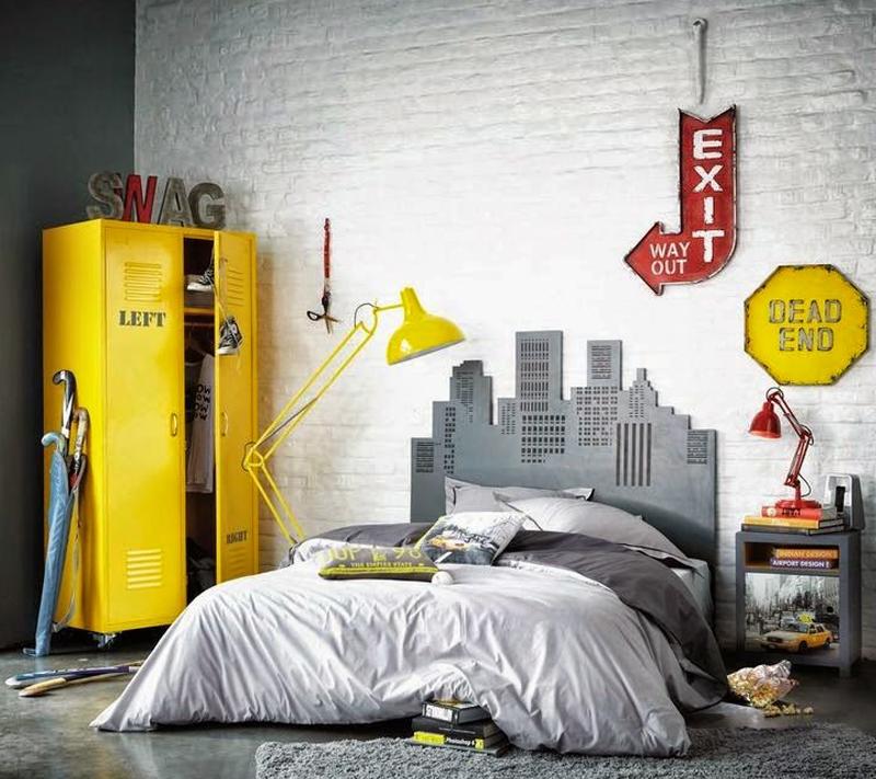 boys room yellow