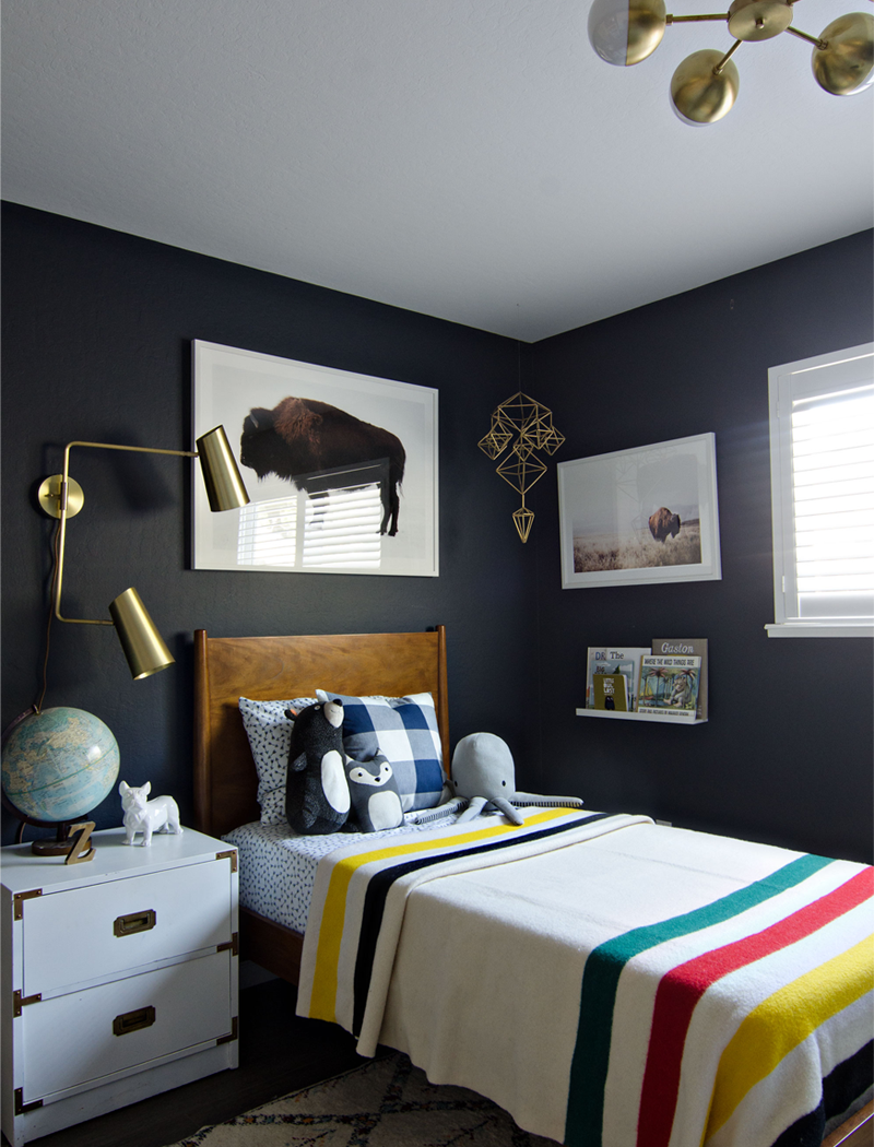 terrific little boy bedroom decorating ideas | Little Man Cave - boys room inspiration - by Kids Interiors