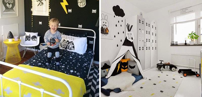 superhero boys room