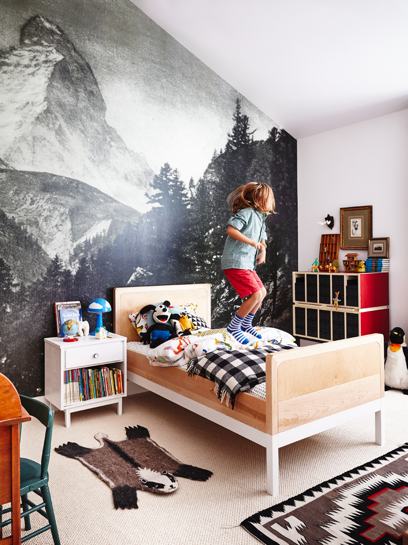 Fun Wallpaper For Boysrooms By Kids Interiors
