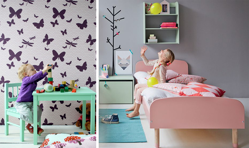 coloured kids furniture