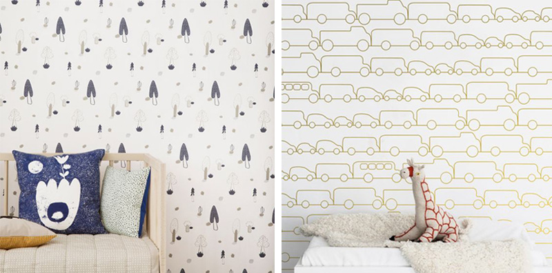 minimalistic wallpaper boysroom