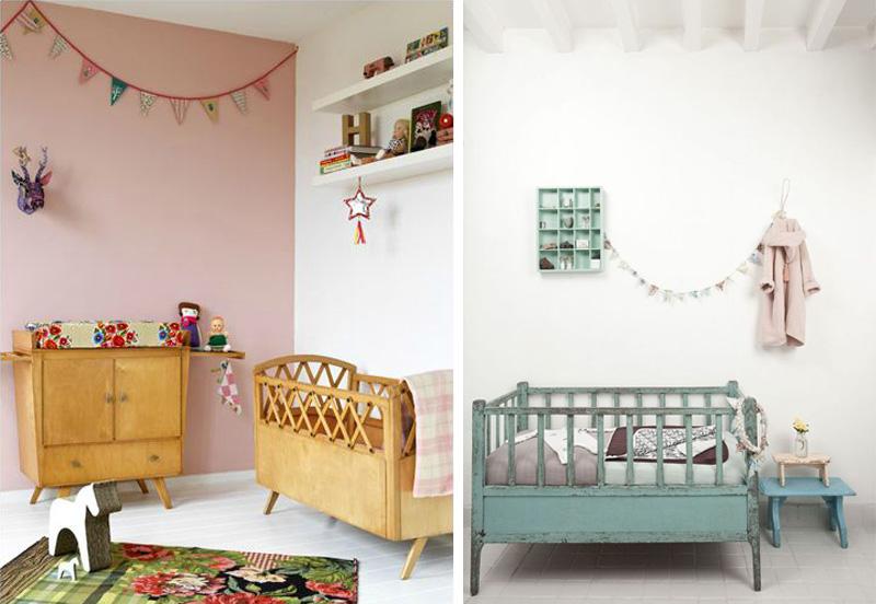 vintage nursery furniture