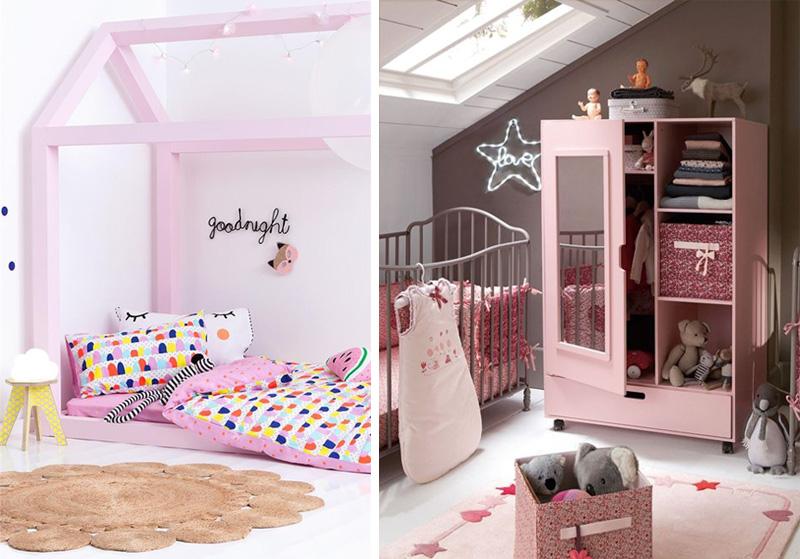 pale pink kids furniture